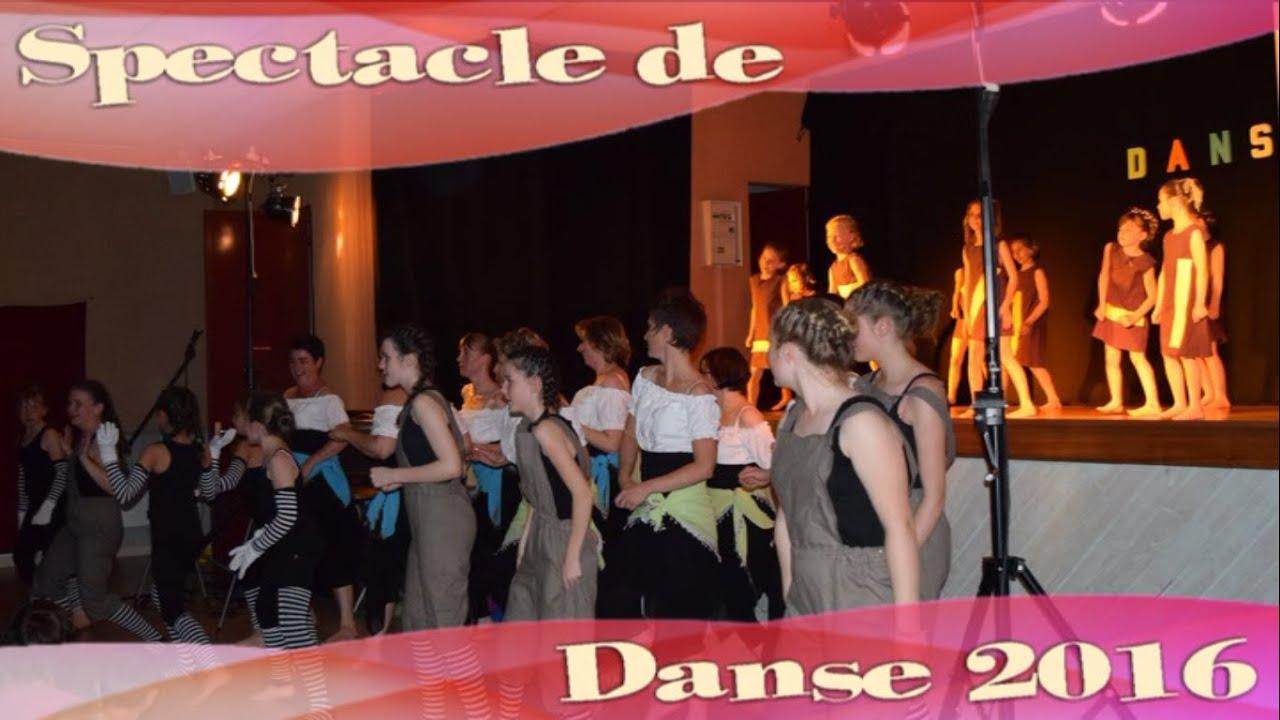 Spectacle de Danse 2016 - Familles Rurales St Pierre des Nids