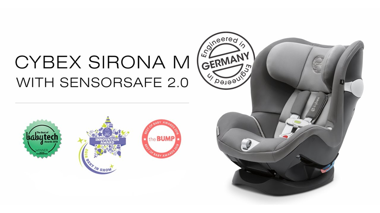822683bca28a2 Introducing the Sirona M car seat with SensorSafe 2.0 - YouTube