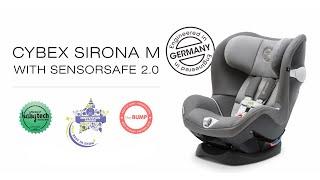Introducing the Sirona M car seat with SensorSafe 2.0