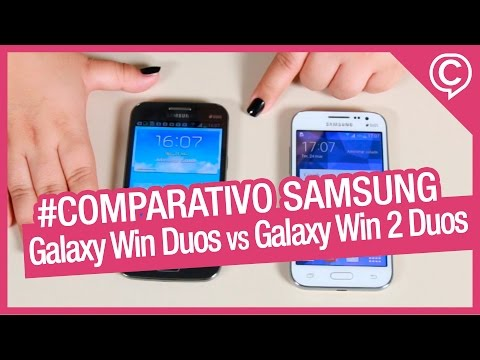 Samsung Galaxy Win vs Galaxy Win 2 [Comparativo] - Cissa Magazine