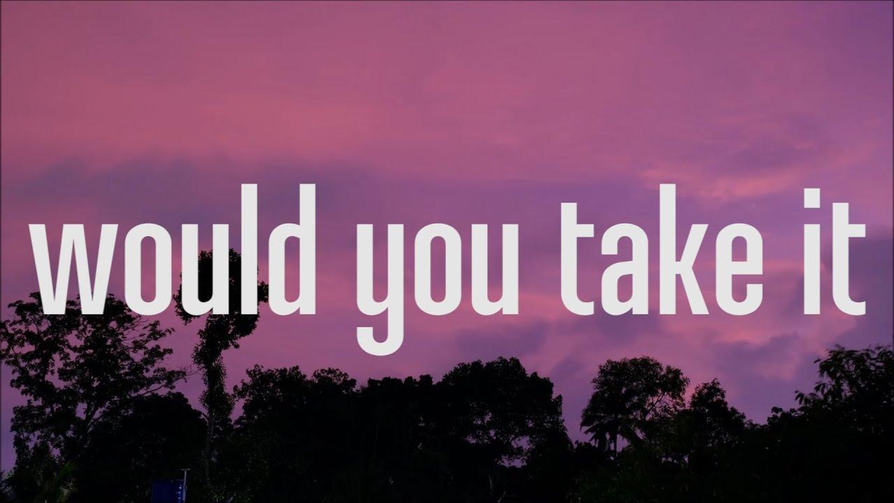 Jay Sek - would you take it (Lyrics )