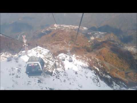 Cable Car,  Rosa Khutor, Sochi, Caucasus, Russia