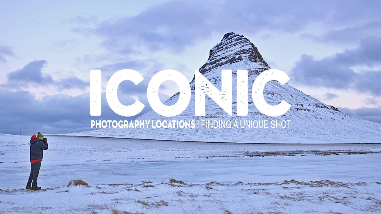 UNIQUE PHOTOGRAPHY in an ICONIC location | Iceland in winter