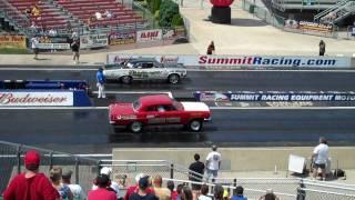 Knafel Tin Indian 1966 GTO vs. Running Bear 1963 Tempest Launch