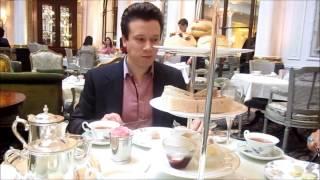Etiquette of Finger-Sandwich Eating  High Tea @ The Savoy Hotel, London