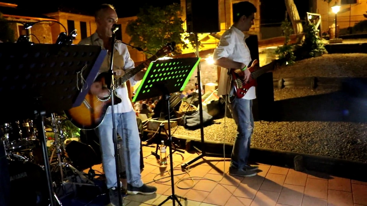 non dire no cover band battisti4ever lamezia lissania garden - YouTube