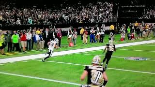 Cooper kupp 40+ yard touchdown then the rams convert on the 2 point conversion