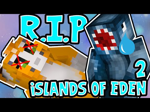 Minecraft Xbox - ISLANDS OF EDEN 2! - STAMPY CAT DIED?! [4]