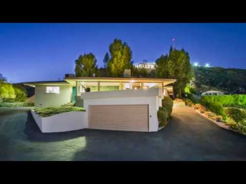 Original Mid-Century Residence Designed by Harry T. Miller in Prime Hollywood Hills