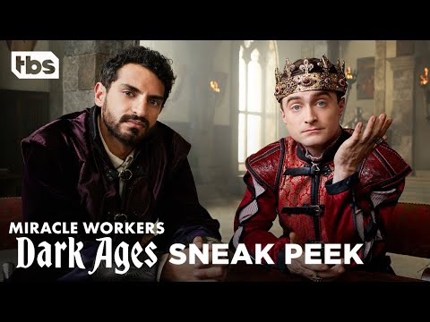 Miracle Workers: Dark Ages   Watch Daniel Radcliffe and Steve Buscemi in this exclusive sneak peek