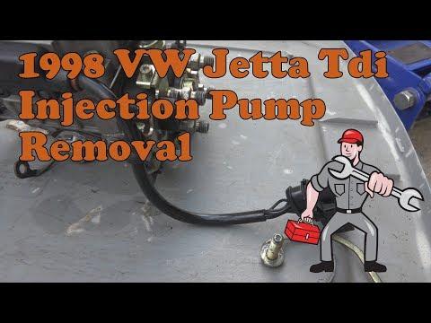 1998 VW Jetta Tdi A3 Injection Pump Removal AHU Engine