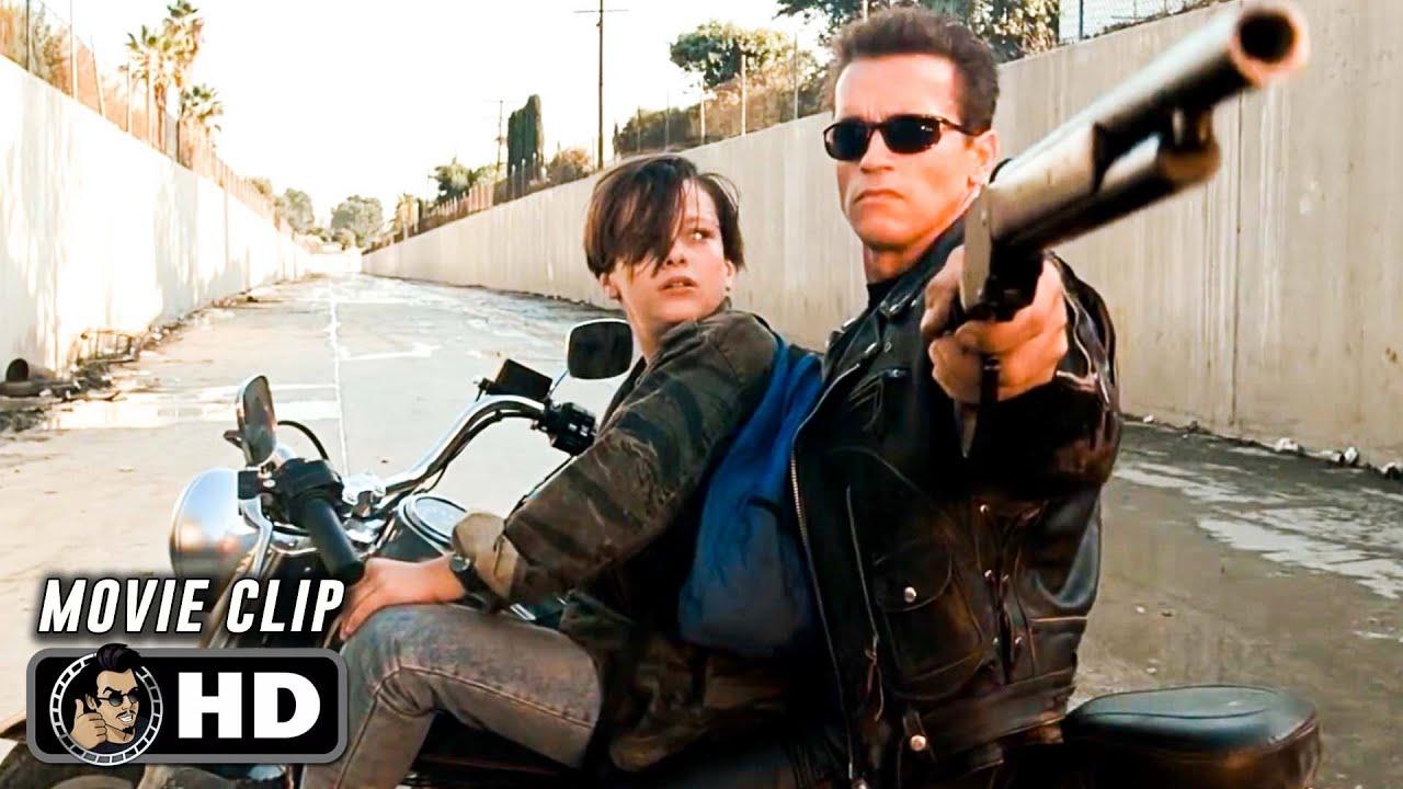 TERMINATOR 2 Clip - Truck Chase (1991) Arnold Schwarzenegger - YouTube