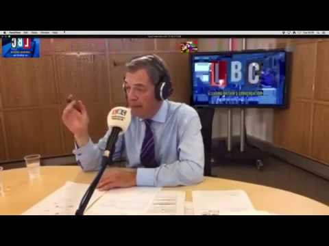 Nigel Farage Discusses the EU's Disgraceful Comments on Britain
