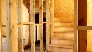 Канадский панельно-каркасный дом внутри. Строительство своими руками под ключ.(Каркасно-панельные дома от производителя и застройщика, компании Евродом. http://www.evrodim.com Вид каркасного..., 2012-08-07T05:38:17.000Z)
