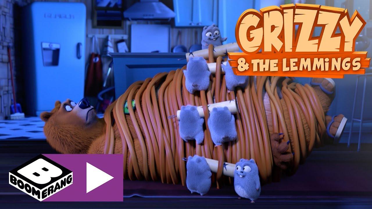 Grizzy i lemingi | Fajerwerki | Boomerang