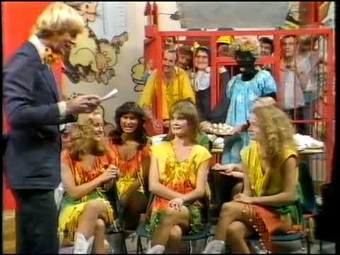 Tiswas - Phantom Flan Flinger - Legs & Co, Dennis Waterman