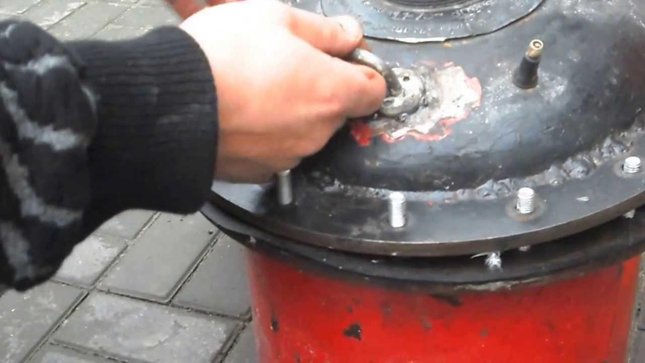 Автоклав для домашнего консервирования своими руками из газ 247