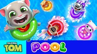 Talking Tom Pool - Gameplay First Look