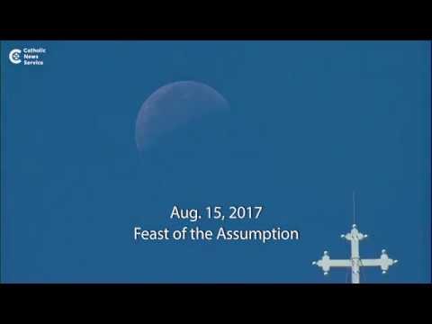 Pope celebrates Assumption of Mary