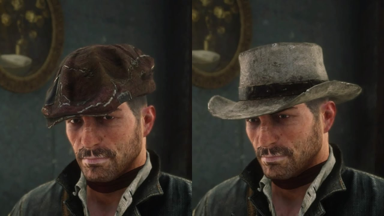 Red Dead Redemption 2 Worn Flat Cap John S Gambler S Hat Found Stolen Hats