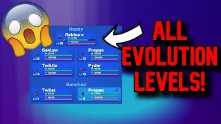 *ALL* LOOMIAN EVOLUTION LEVELS! Roblox Loomian Legacy