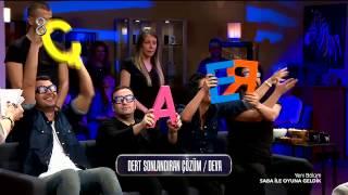Saba ile Oyuna Geldik - Diz Beni Oyunu (1.Sezon 7.Bölüm)
