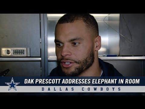 Dak Prescott Addresses The