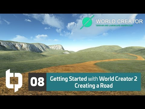 08 | Getting Started with World Creator 2 | Roads Pt. 1