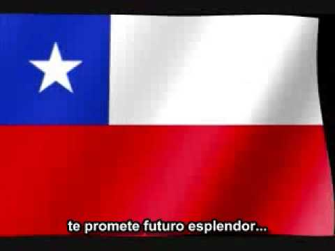 Himno Nacional subtitulado Chile