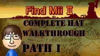 Find Mii 2 Hat Walkthrough Normal Quest Path 1