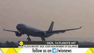 Jet Airways cancels 14 flights as pilots call in sick