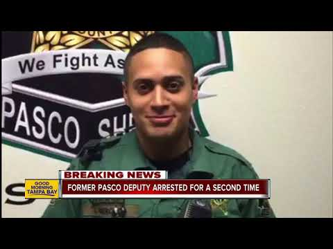 Former Pasco deputy arrested again for conduct while on duty