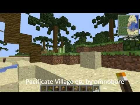 Minecraft Pacificate NPC Village Palm Tree Forest Giant