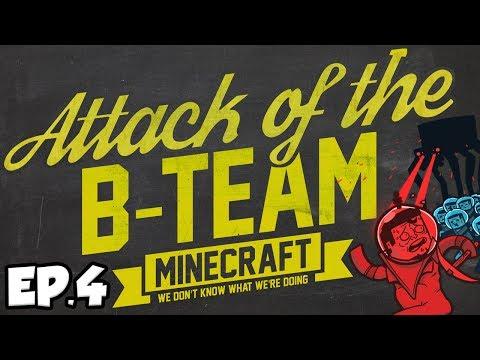 Attack Of The B-Team Ep.4 - DIAMONDS! (B-Team Modpack)
