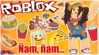 FOOD, FOOD, FOOD! FASHION FAMOUS ROBLOX CRYSTALSIMS