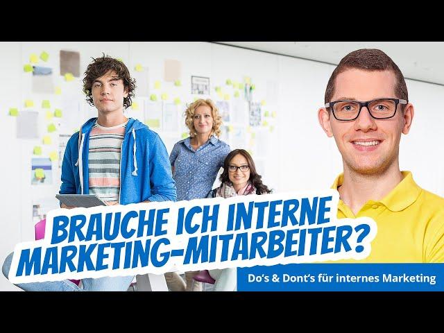 Wieso sich interne Onlinemarketing Mitarbeiter (meist) nicht lohnen!?!