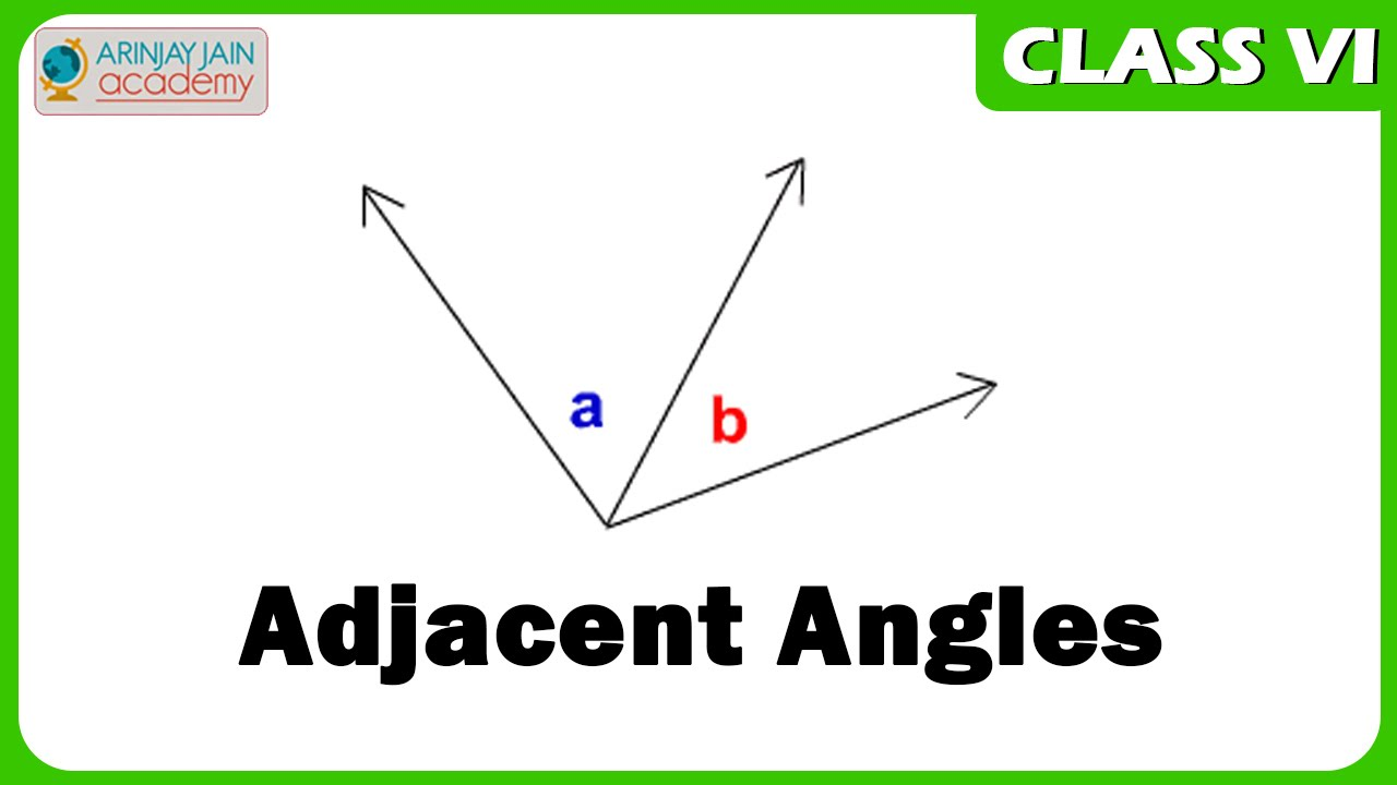 how to find the adjacent angle of a right triangle
