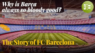 Have you ever wondered why barcelona is always so bloody good? to go back the beginning with founder joan gamper, bagels, and johan cruyff.