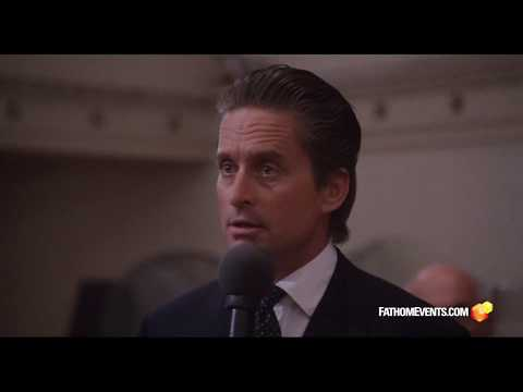 "Wall Street 30th Anniversary - ""Greed is Good"" Clip"