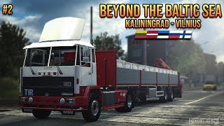 ETS2 Beyond The Baltic Sea DLC | Kaliningrad - Vilnius | SISU M Series | Euro Truck Simulator 2