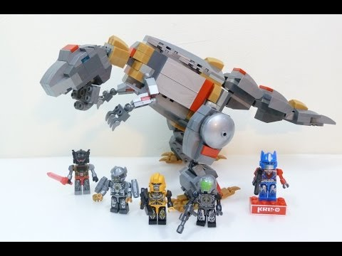 Kre-o Transformers Grimlock Unleashed review