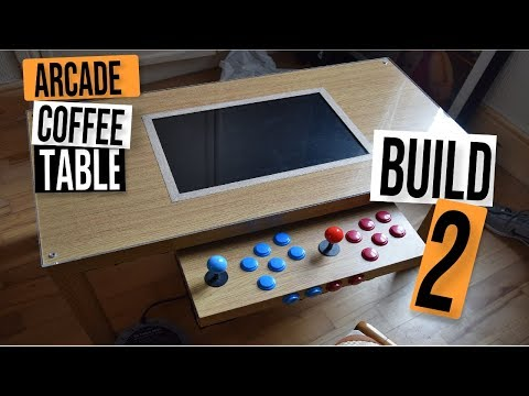 MAME D.I.Y ARCADE COFFEE TABLE BUILD 2 – 1200 BUILT IN GAMES
