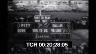 Dallas Cowboys at Pittsburgh Steelers - October 31st, 1965