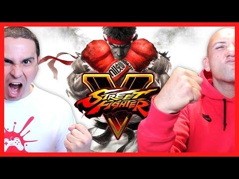 2J vs X-Man! (Street Fighter V)