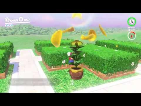 Super Mario Odyssey Pilz Königreich 4 Toad Flora Samen Im