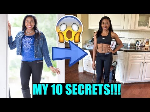 MY 10 WEIGHT LOSS SECRETS!