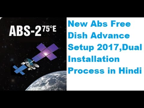 Abs Free Dish Advance Full Signal Setting 2017 in Hindi