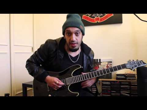 How to play 'Dread And The Fugitive Mind' by Megadeth Guitar Solo Lesson w/tabs