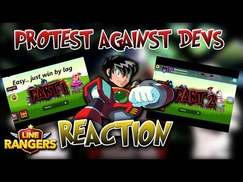 LINE RANGERS INDONESIA: PROTEST AGAINST DEVELOPERS REACTION
