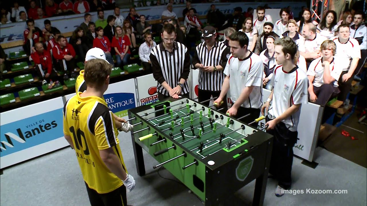 Table Soccer Final Double Mens 2012 Youtube